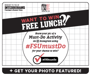 Want to win free lunch? FSUmustDo contest promo graphic