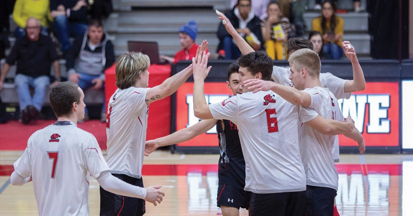 Fanshawe Falcons mens volleyball team