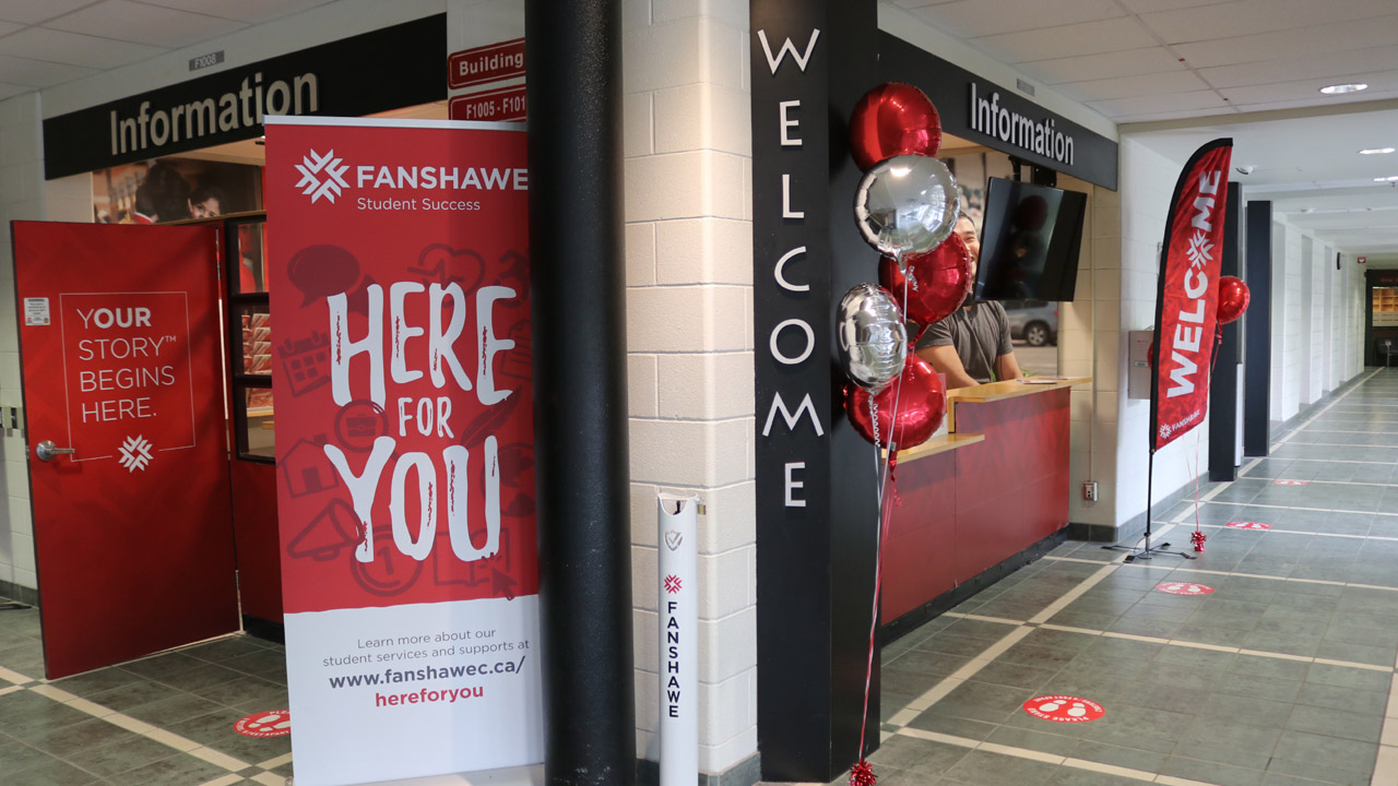 Fanshawe's world now divided between virtual and in-person reality