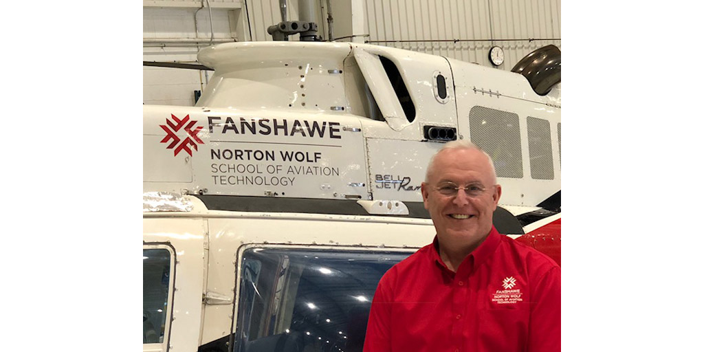Larry Weir named new chair of the Norton Wolf School of Aviation Technology
